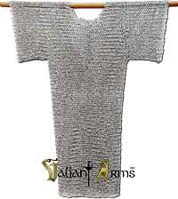 Chain Mail Shirt (Hauberk) - Riveted Aluminum